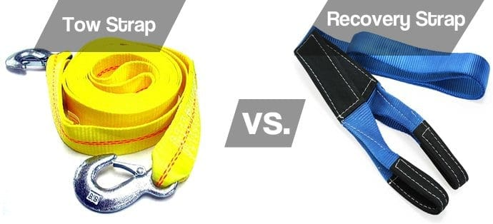 Tow strap vs Recovery strap