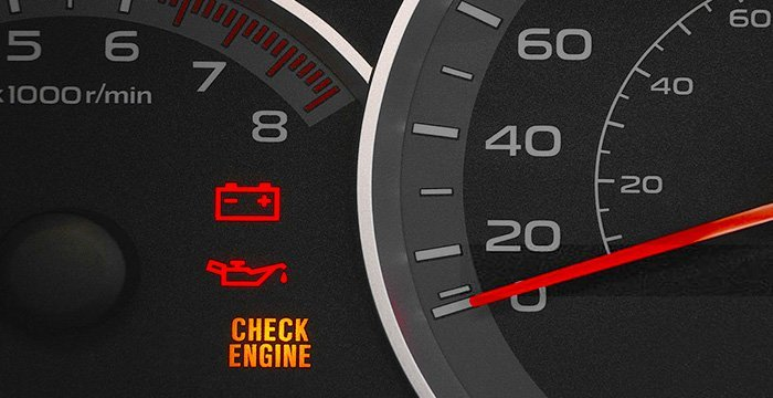 Check Engine Light Flashing