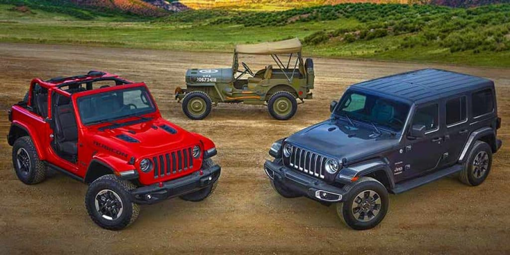 different types of jeep soft tops