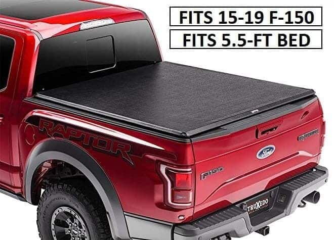TruXedo Truxport Soft Roll-up Tonneau Cover for Ford F-150