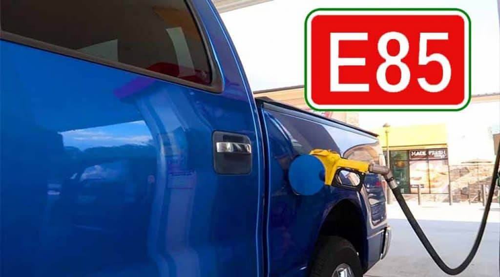 What happens when you put E85