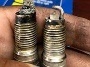 Faulty Spark Plugs